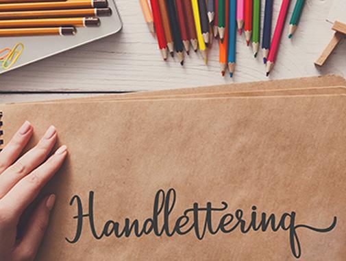 Schön Schreiben durch Handlettering
