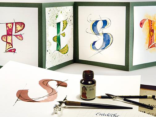 Kalligrafie-Karten für besondere Anlässe