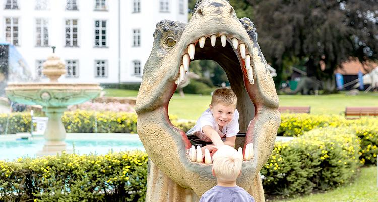 DINOLAND im Schlosspark Tüßling